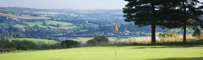 Golf at Cloisters Guest House in Burnham-on-Sea, spacious and comfortable bed and breakfast accommodation.
